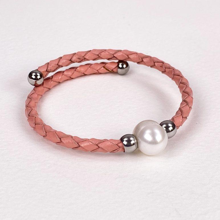 Rose Bahia Pearl Bracelet