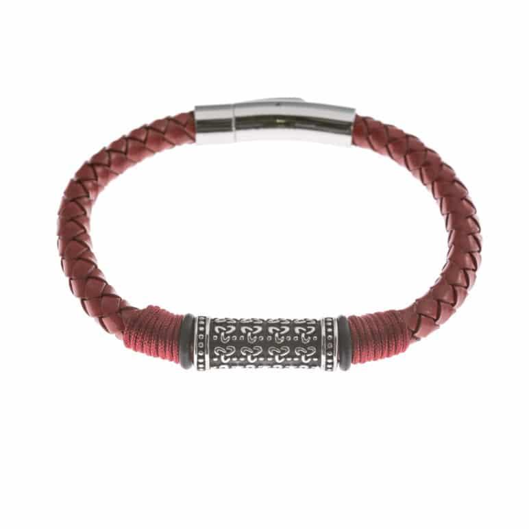 Scarlet Genuine Leather Bracelet