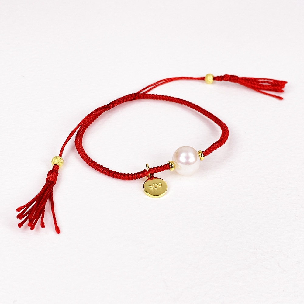 Red Joy Pearl Bracelet