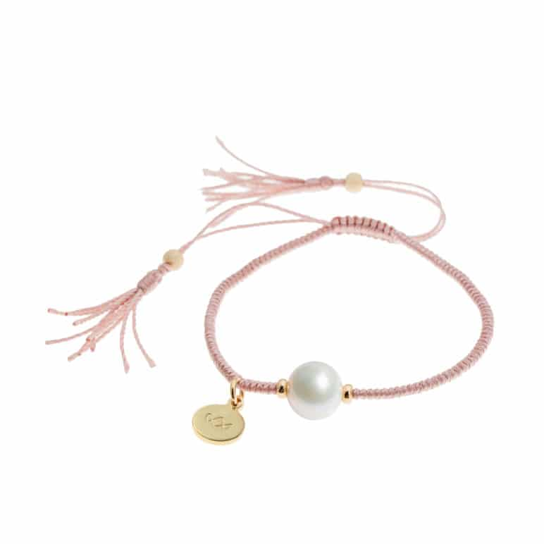 Champagne Joy Pearl Bracelet