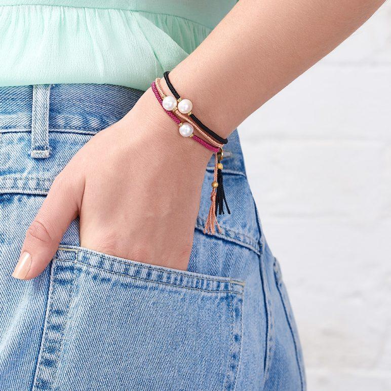 Black Joy Pearl Bracelet