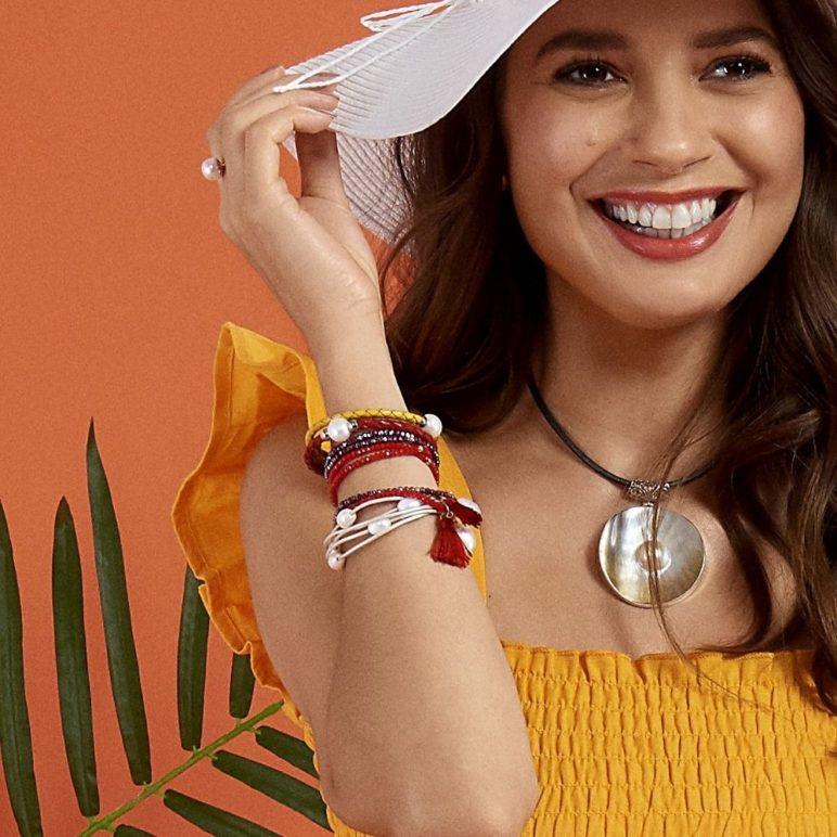 Scarlet Luna Pearl Bracelet/Necklace