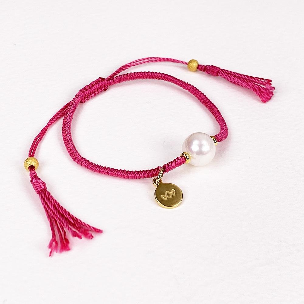 Peony Joy Pearl Bracelet