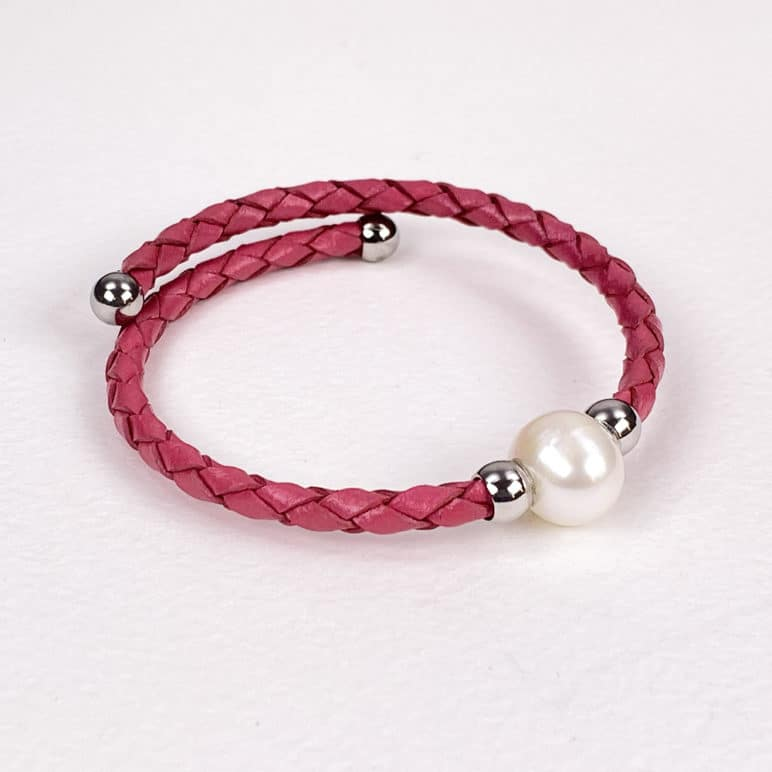 Lilac Bahia Pearl Bracelet