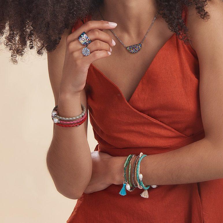 Silver Bahia Pearl Bracelet