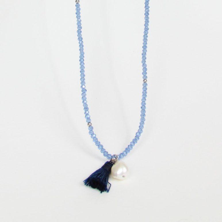 Blue Luna Pearl Bracelet/Necklace