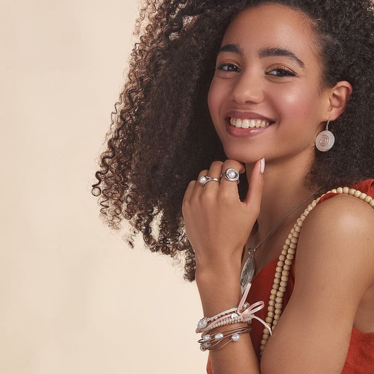 Bali Mother of Pearl Earrings