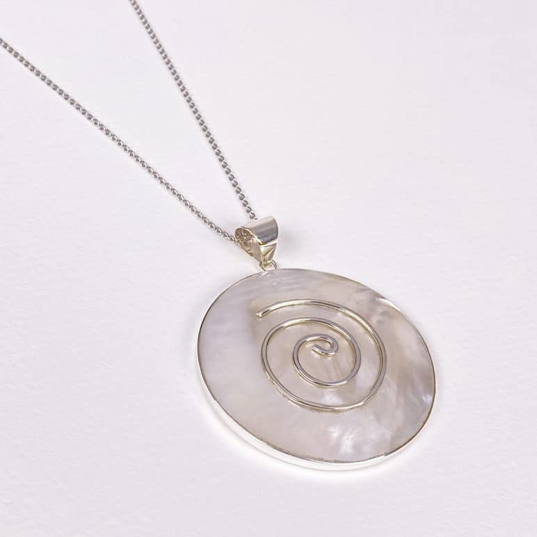 Bali Mother of Pearl Pendant