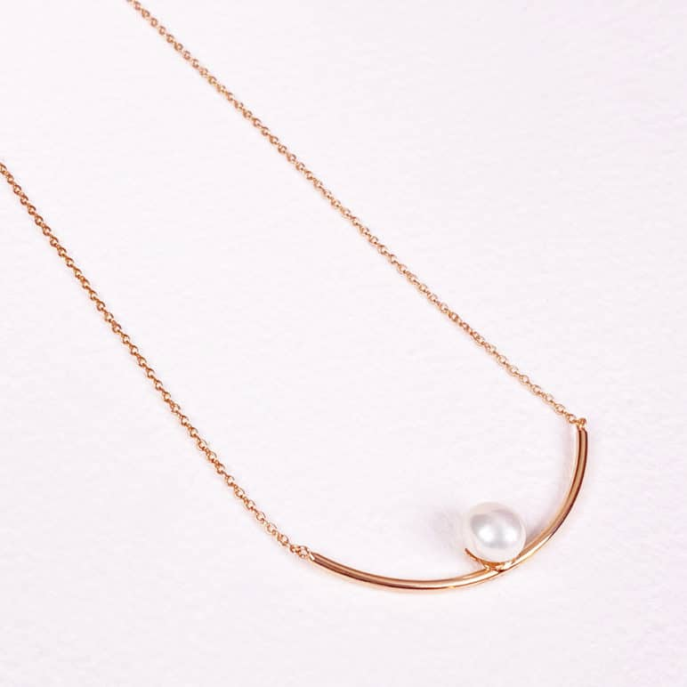 Reef Two Pearl Necklace