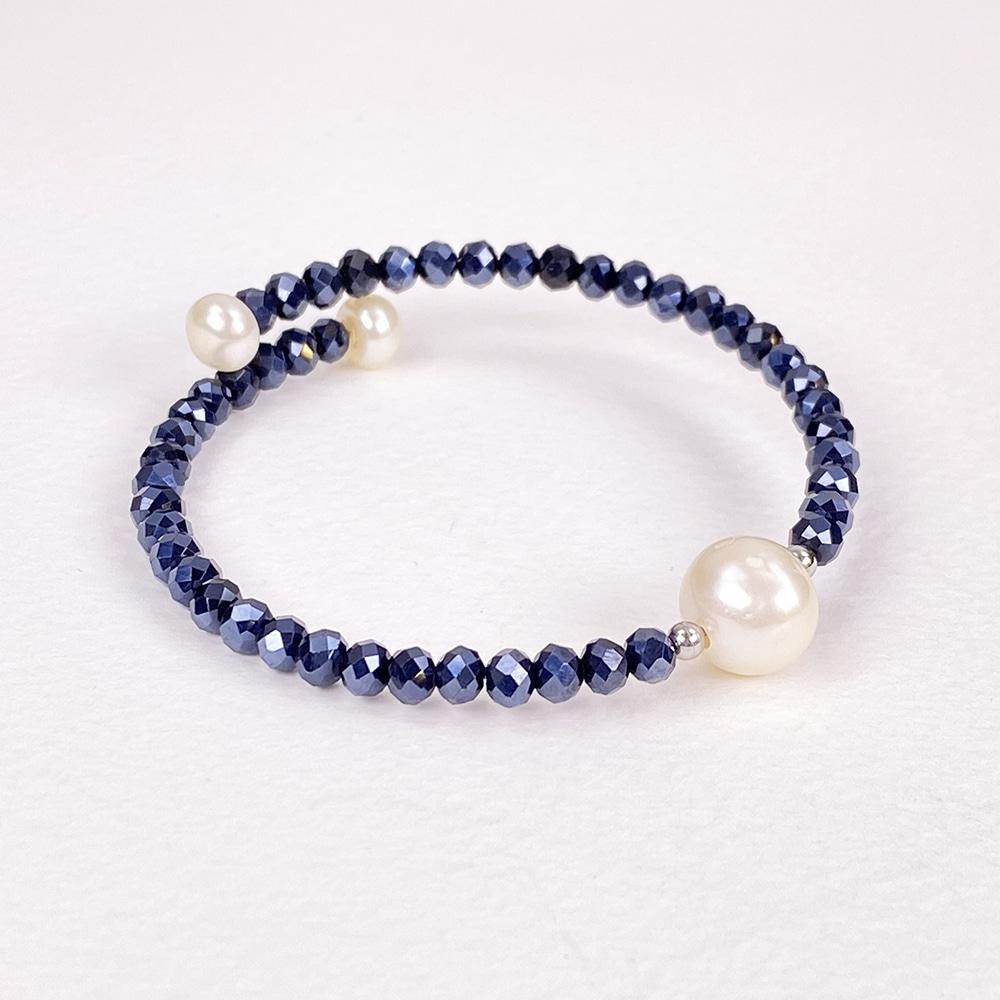 Blue Bahia Crystal Bracelet