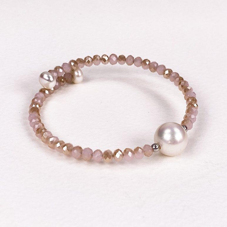 Rose Bahia Crystal Bracelet