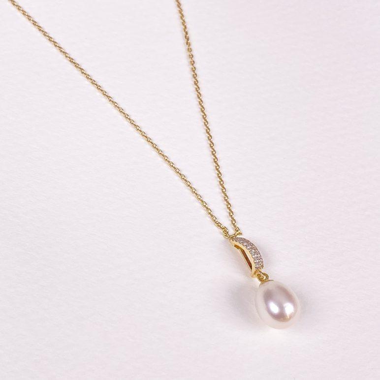Desire 9ct Gold Pearl Pendant
