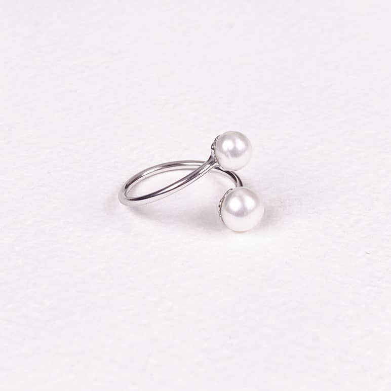 Reef Double Pearl Ring