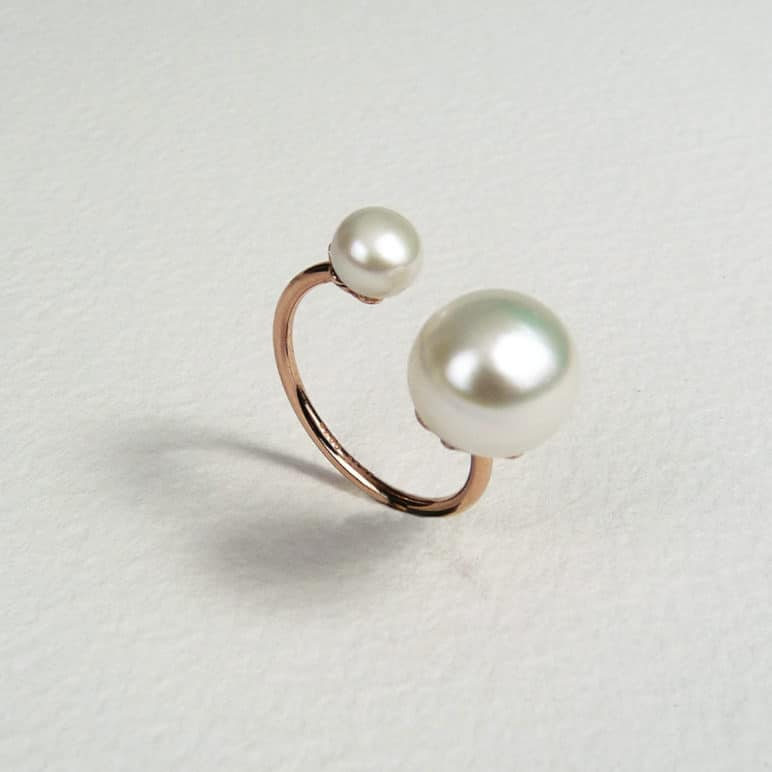 Reef Two Pearl Ring