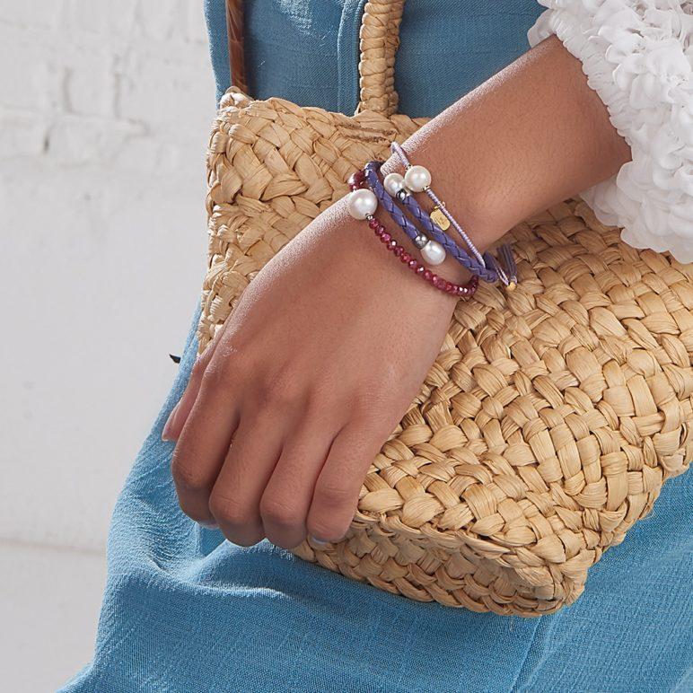 Scarlet Bahia Crystal Bracelet