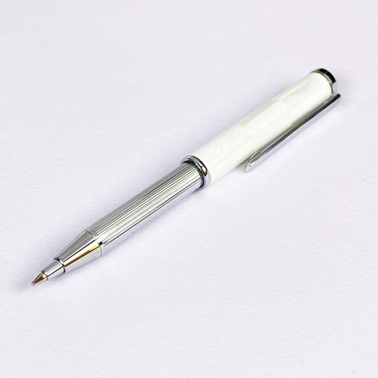 Mother of Pearl Retractable Ballpoint Pen