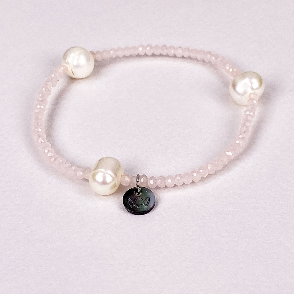 Rose Luna Crystal Bracelet