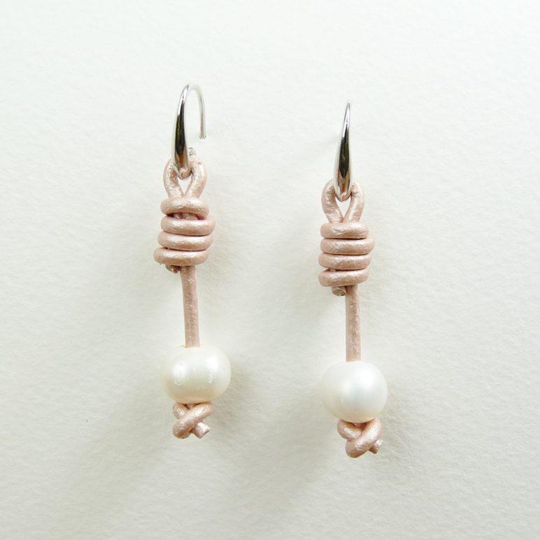 Pink Calima Pearl Earrings