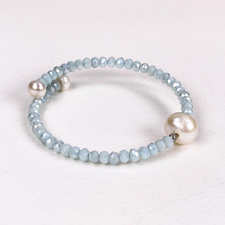 Mint Bahia Crystal Bracelet