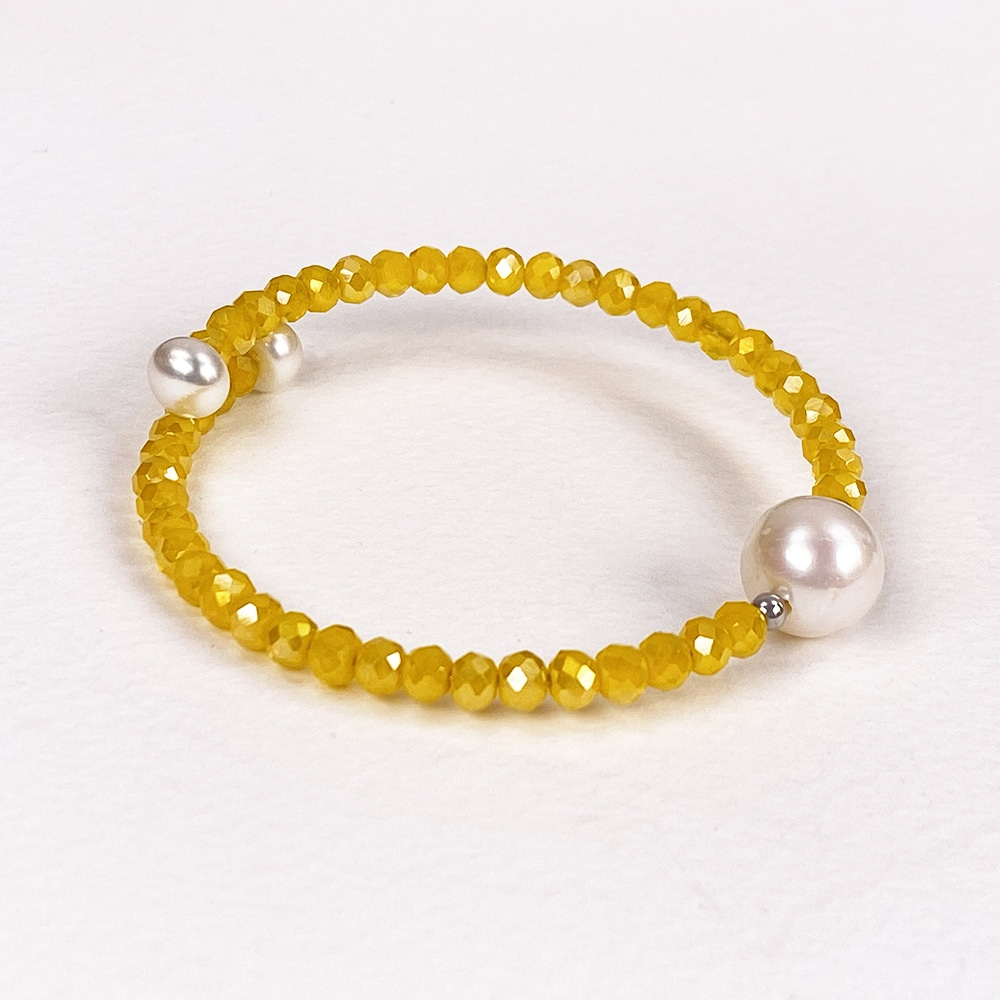 Yellow Bahia Crystal Bracelet