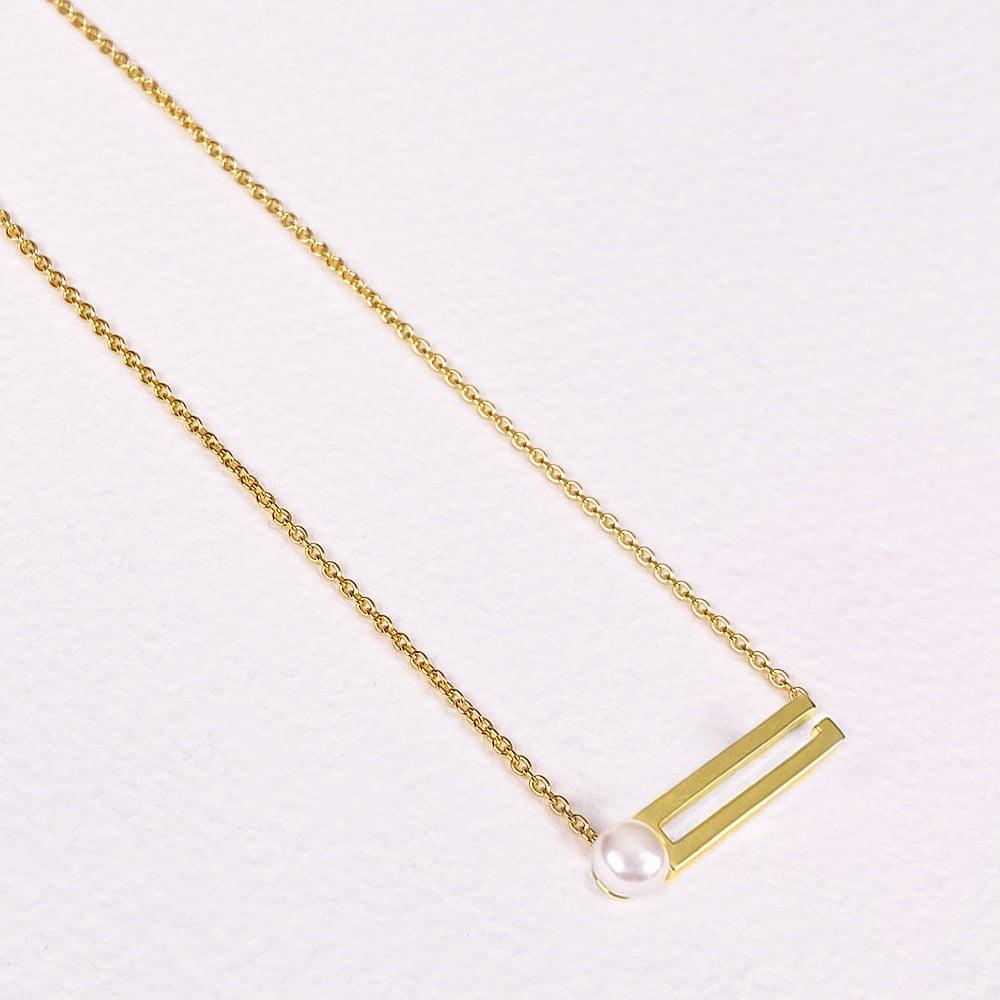 Cala Single Pearl Necklace
