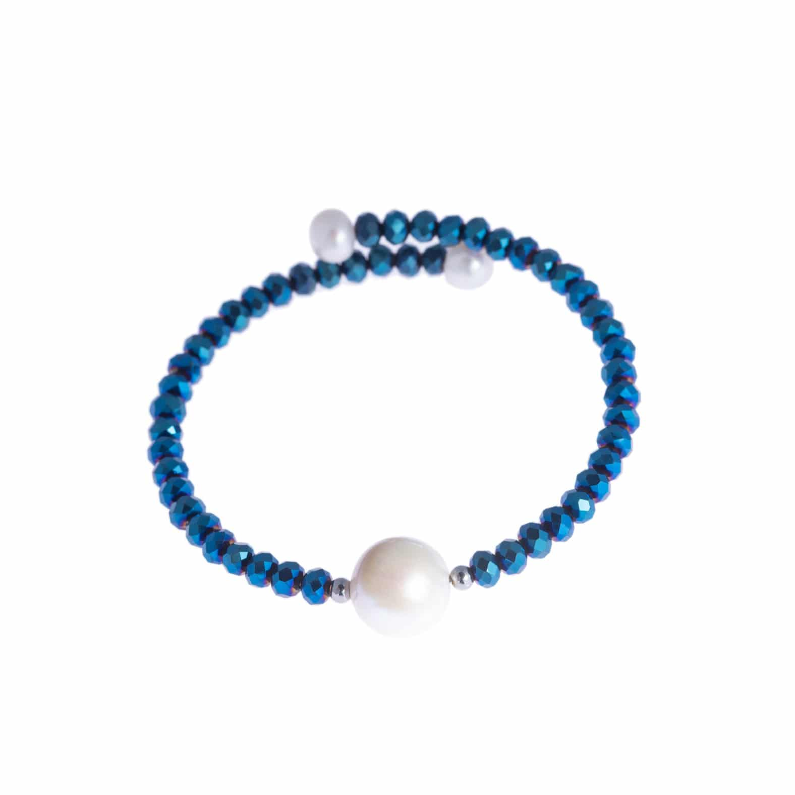 Royal Blue Bahia Crystal Bracelet